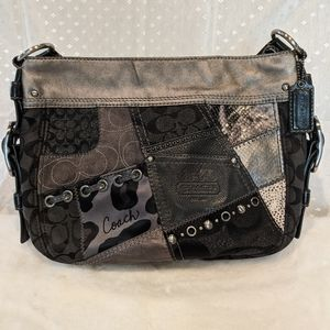 Vintage Coach patchwork crossbody